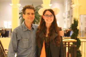 Me and Dean Kamen 2014 FIRST World Championships