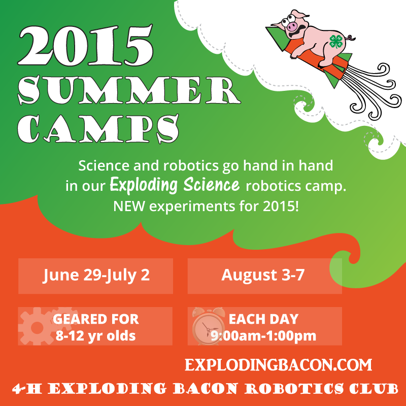 Stem Summer School Year 12: 2015 Exploding Science Summer Camps